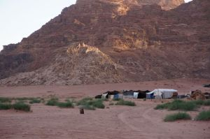 Bedouins at Wadi Rum
