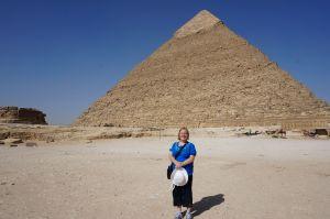 Jo at Pyramid