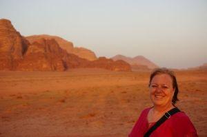 Jo at Wadi Rum
