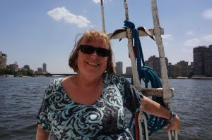 Sailing on Nile Felucca