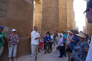 Tour Guide at Karnak